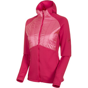 Mammut Aconcagua Light Hybrid ML Giacca con cappuccio Donna, dragon fruit